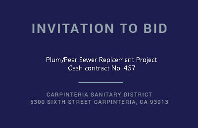Plum/Pear Sewer Replacement Project